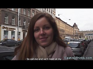 Fake casting with hopeful russian chick