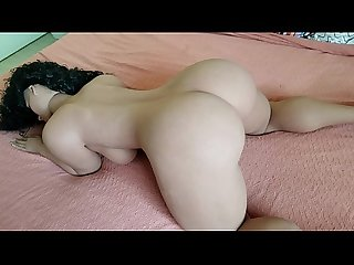 Hot big butt big boob spanish sex doll twerks her real looking ass