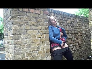 Ashley riders public flashing