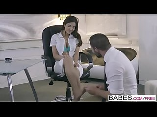 Babes office obsession best foot forward starring Julia de lucia and max deeds clip
