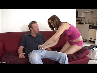 Hottie Brooke Logan Whore Bounces Cowgirl Style
