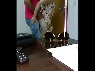 Hot sexy Aunty fucking in office
