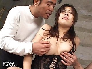 Uncensored amateur japanese backroom sex