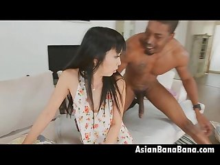 Marica hase accepting big black dick deep in dat ass