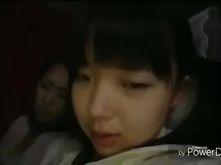 chinese girl bus cam full