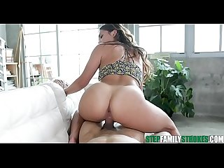 Sexy Latina Teen Keilani Kita With Big Ass And Tits Gets Her Pussy Fucked By Her Pervy Stepdad