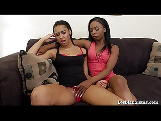 Hot black lesbians really know how to please each other