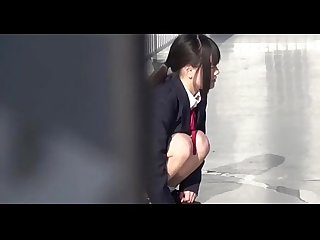 School girls peeing2