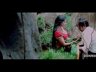 Hot romantic saree removal in jungle bhauja com