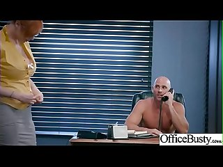 (Lauren Phillips) Busty Girl In Hard Style Sex In Office clip-24