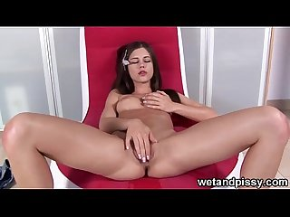 Little caprice wets her panties