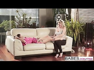 Babes - Step Mom Lessons - (Afrodity) and (Jenny Glam) - Working Up a Sweat