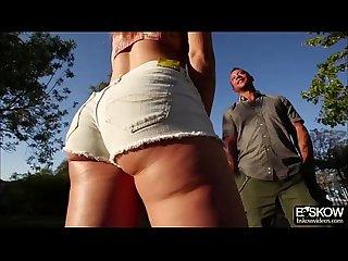 Blonde aj applegate shows what she got in an Erotic Sex