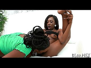 Black sweetheart cums many times