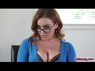 Georgia jones and natasha nice roleplay as husband and wife