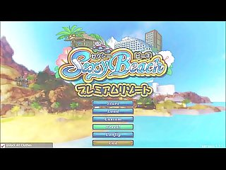 Sexy beach premium resort gameplay hentai game