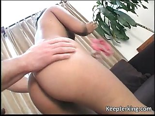 Asian slut takes fat dick inside her