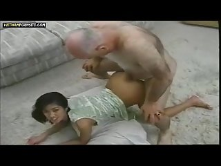 Vietnam porn vietnamese girl interracial sex with old white guy