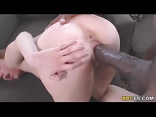 Pepper Hart Gets Stretched By Mandingo's BBC