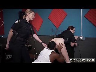 Blonde tight pants xxx raw video captures officer fuckin a deadbeat
