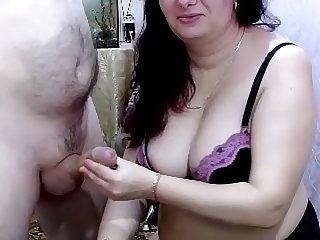Wife gets cream out