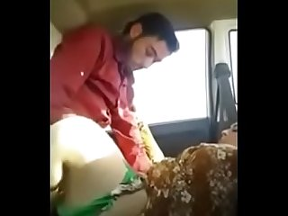 Desi Hijab Bhabhi Outdoor Porn Sex With Devar in car.MP4