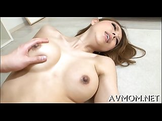 Milf with fleshy pussy sucks one eyed monster