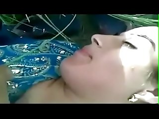 Outdoor sex Desi chudai video of sexy indian wife with hubby