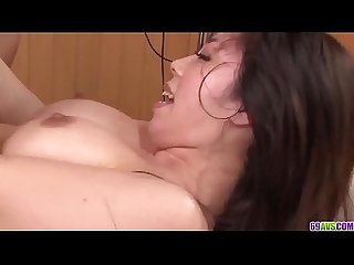 Busty Chinatsu Kurusu erotic massage and naughty sex - More at 69avs com