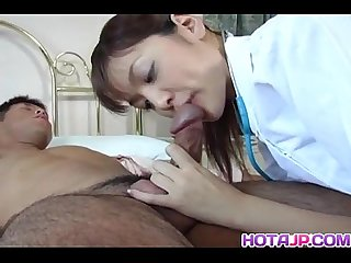 Hijiri kayama licks cum after is fucked