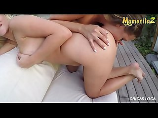 MAMACITAZ - Russian Babes Lara Onyx And Lexy Star Turns Lesbian Outdoor