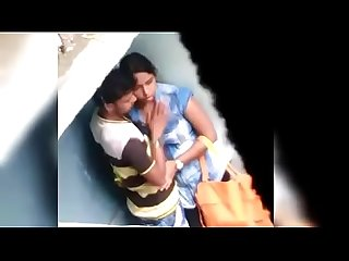 Indian couple Romance with rain romantic video 2018