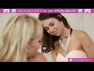 VRBangers.com Mia Malkova and Riley Reid fucked by the groom