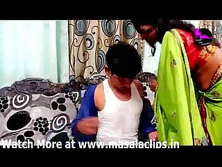 Very horny bhabhi seducing young guy and having sex