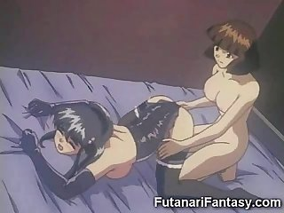 Futanari toon sex race