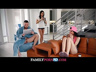 Asian teen fucks stepdad while mom slumbers watch full video on familypornhd com