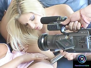 Watch Bambi, Destiny, Linda Shane and Viktoria Blonde in action