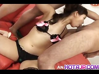 Ren asano swallows phallus