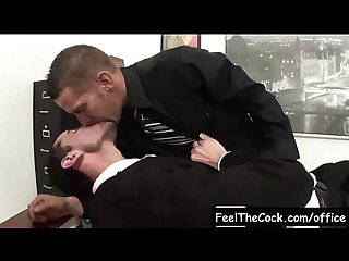Gay office guys fucked at work video07