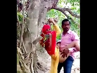 Desi Couple Sex in Jangal