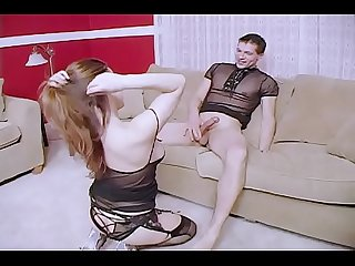 Young couple fucks in front of the camera amateur