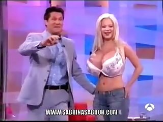 Sabrina Sabrok Biggest Boobs Celeb
