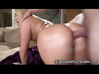 Big ass blonde gets ass fucked