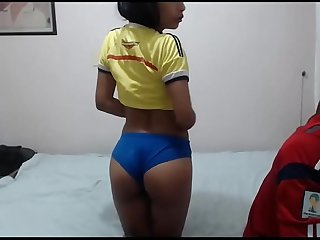 Colombian couple having fun on webcam camsmi.com