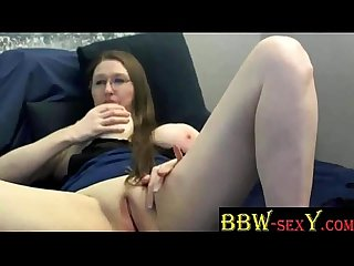 BBW TexasHoney masturbates for web