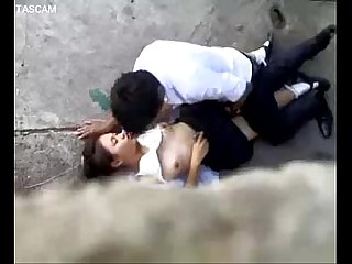 Spycam thai couple public sex