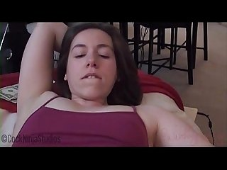 cock ninja studios slutty sister asks brother for money part 2 of 2