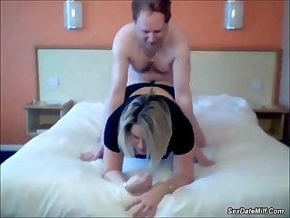 wife fucking in a hotel room