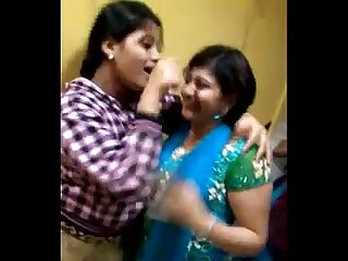 Indian amateur girls dancing