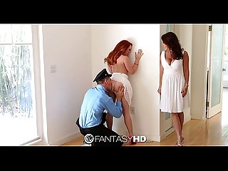 Hd fantasyhd foxy janet gives teen dani rough Fuck for birthday